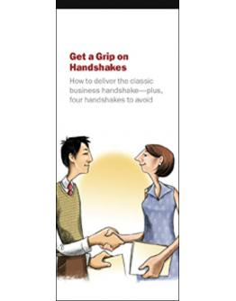 Get a Grip on Handshakes